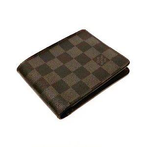 Authentic Vuitton Damier Graphite Multiple Wallet